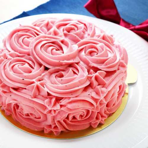覆盆子瑰麗蛋糕(6吋)