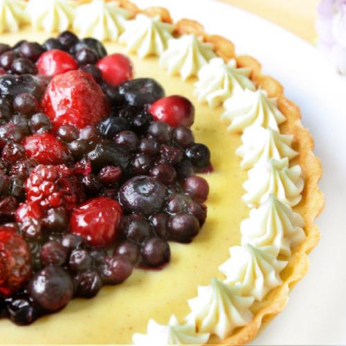 法式綜合野莓派(8吋)