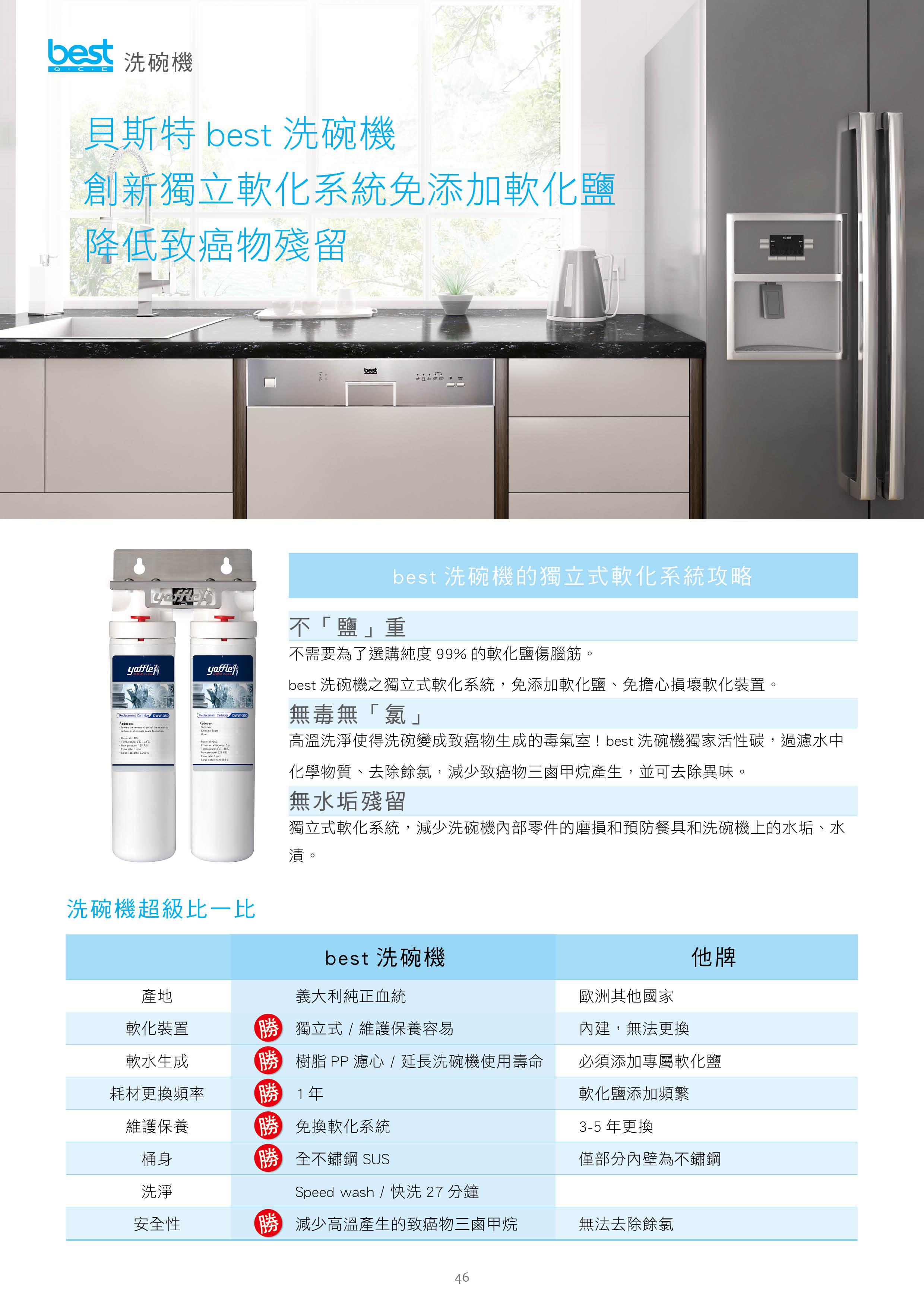 110V獨立式洗碗機