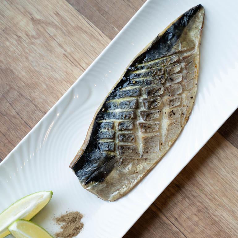 【 烤箱食譜 】鹽烤挪威鯖魚