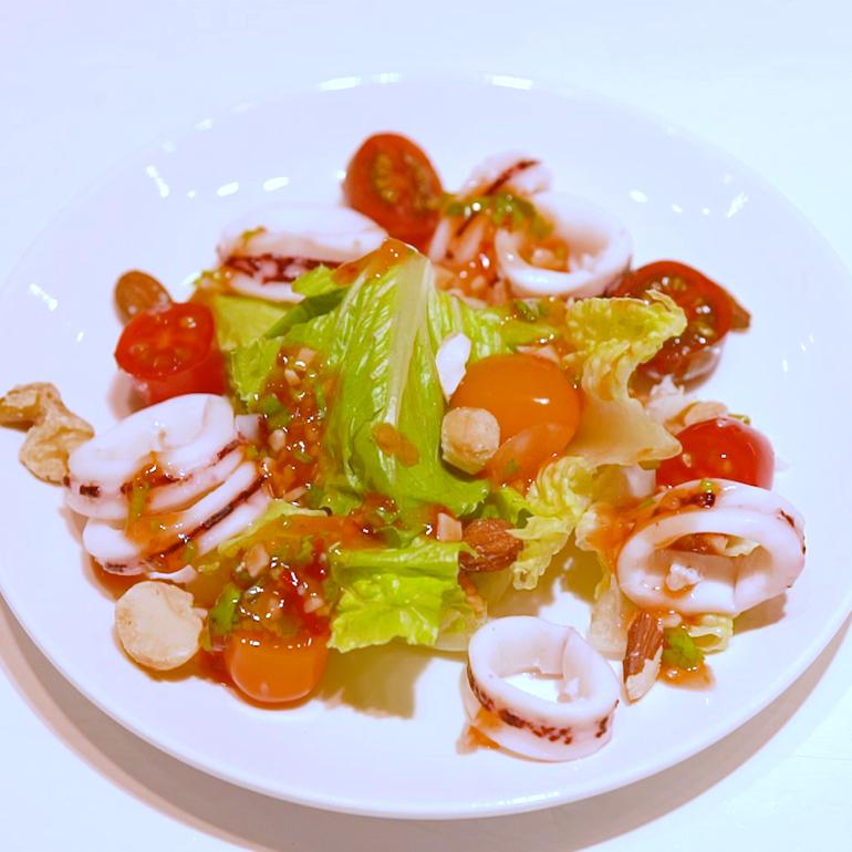 【 蒸烤爐食譜 】泰式綜合海鮮沙拉