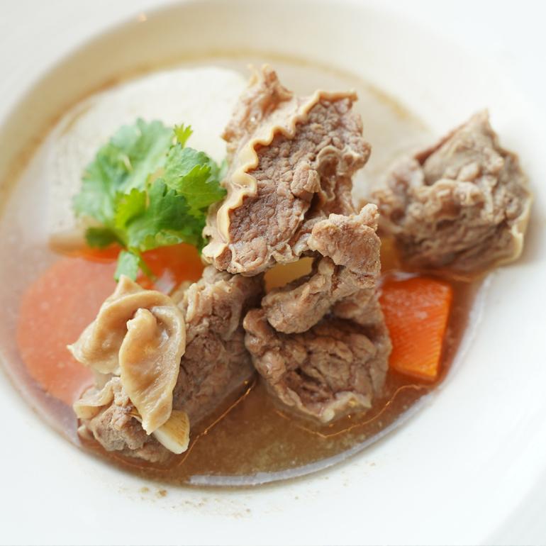 【蒸烤爐食譜影片】清燉牛肉湯