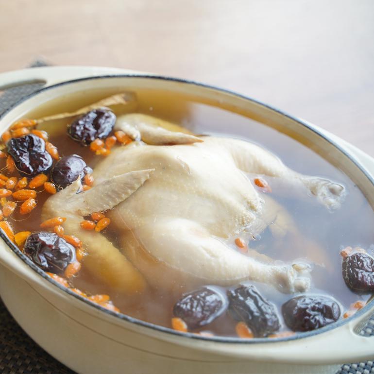 【蒸烤爐食譜影片】滋補養生雞湯
