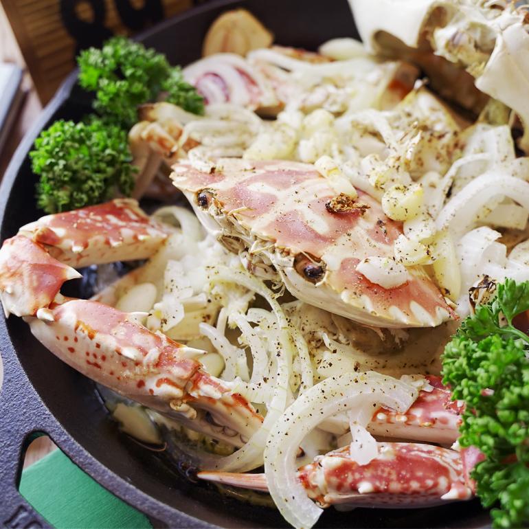 【烤箱食譜影片】奶油烤螃蟹