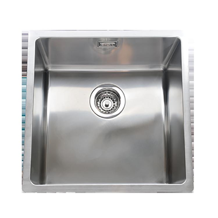 AR&ES 3D導水R角不鏽鋼抗菌水槽ATF4043