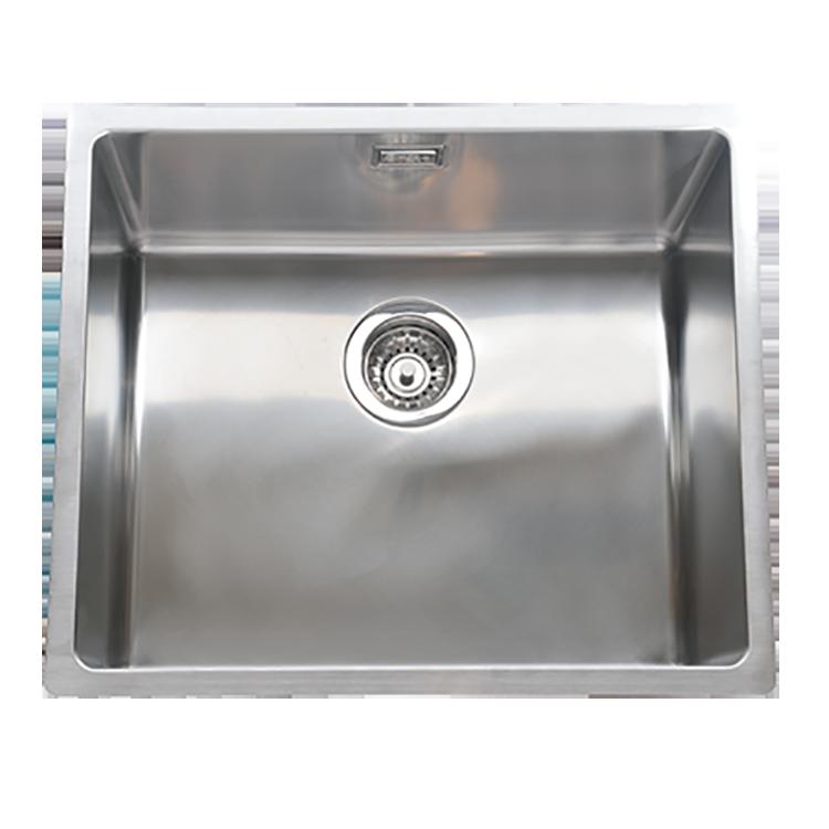 AR&ES 3D導水R角不鏽鋼抗菌水槽ATF5043