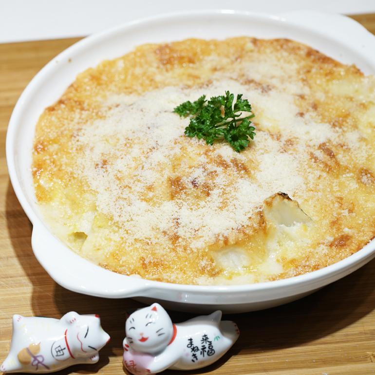 【 烤箱食譜 】奶油烤白菜