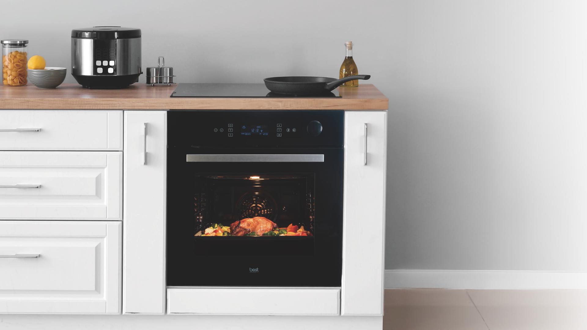 智慧型蒸烤爐