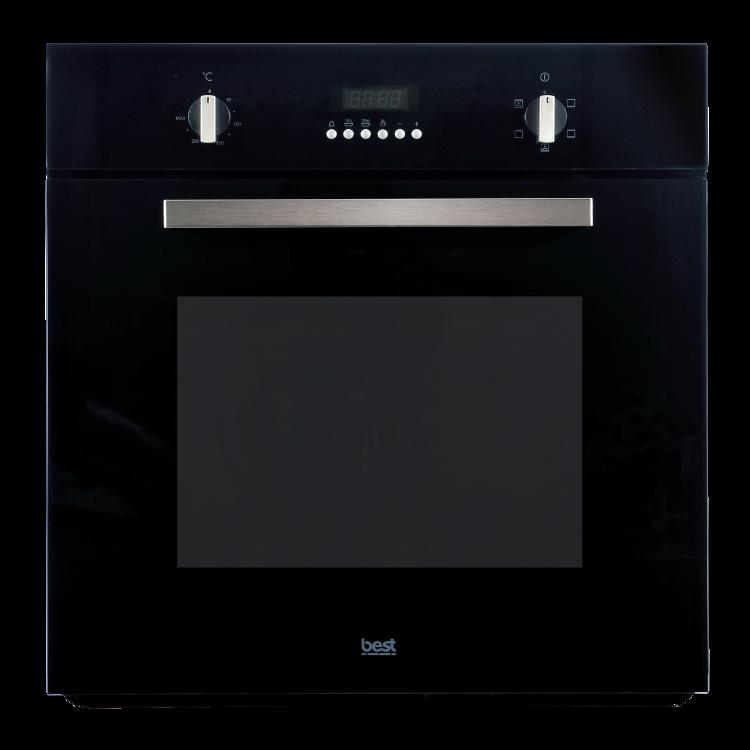 嵌入式3D旋風烤箱OV-367BK(黑色玻璃系列)