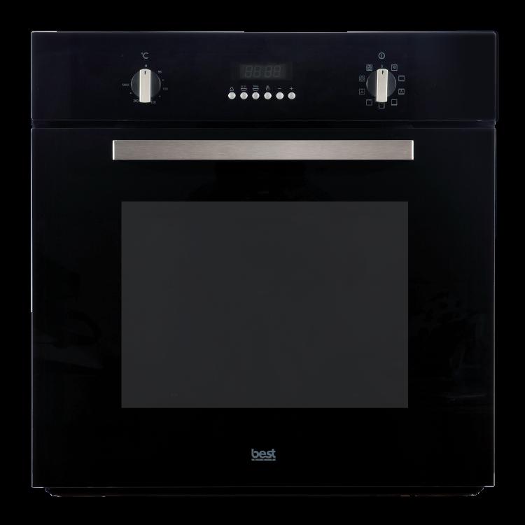 嵌入式3D旋風烤箱OV-369(黑色玻璃系列)