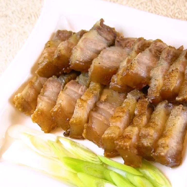【烤箱食譜】蒜香鹹豬肉 古早味招牌菜