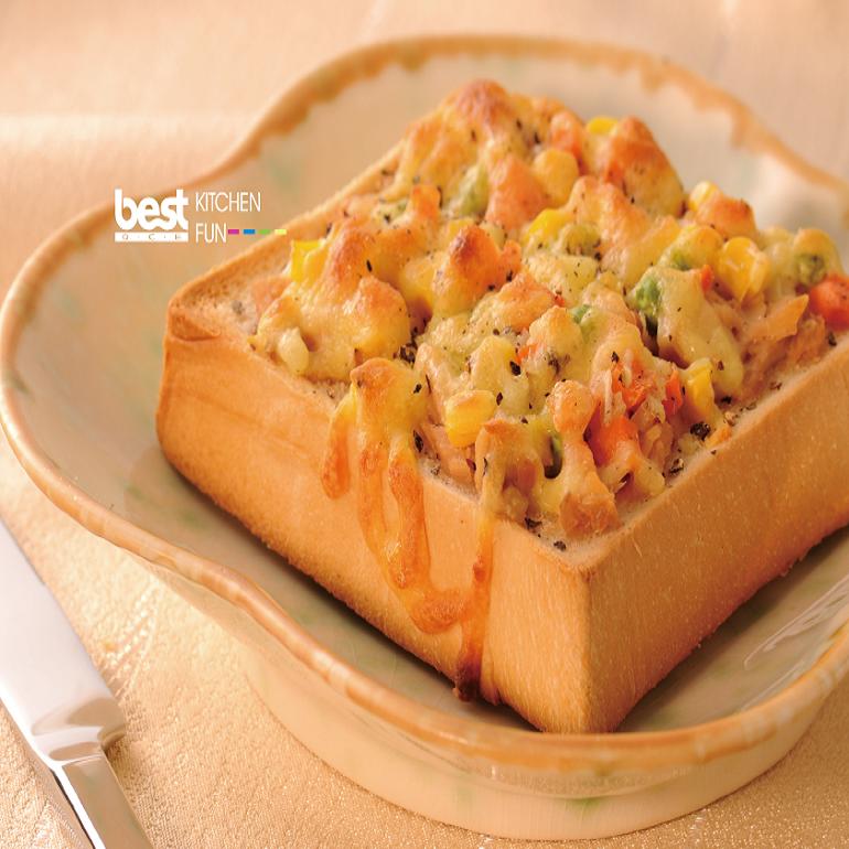 厚片鮪魚吐司