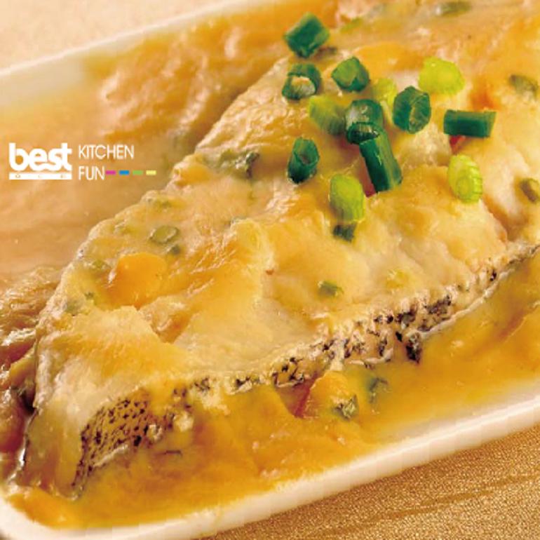 清蒸味噌鱈魚