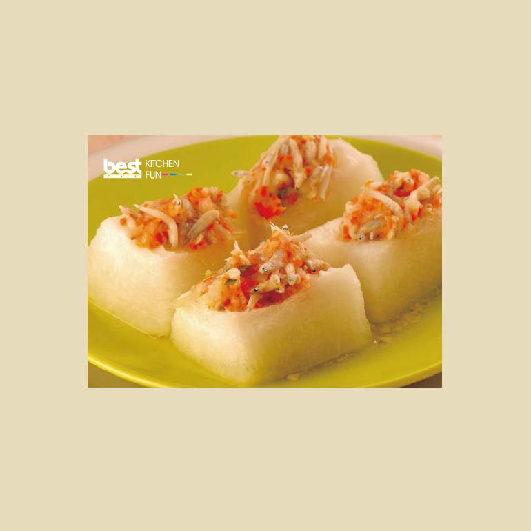 【蒸烤爐食譜】冬瓜細魚
