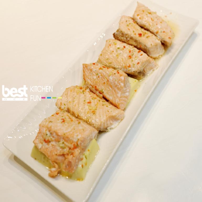 【蒸烤爐食譜】酸辣檸檬魚