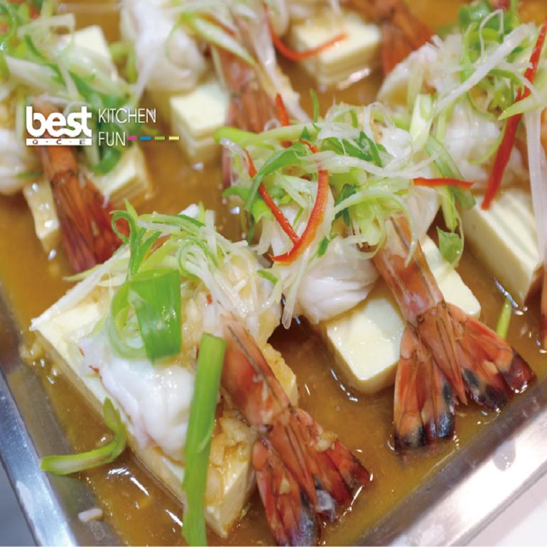 【蒸烤爐食譜】港式蒜蓉蝦