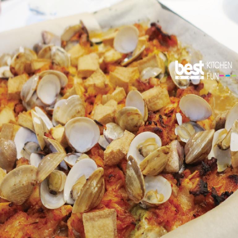 韓式泡菜風味烤