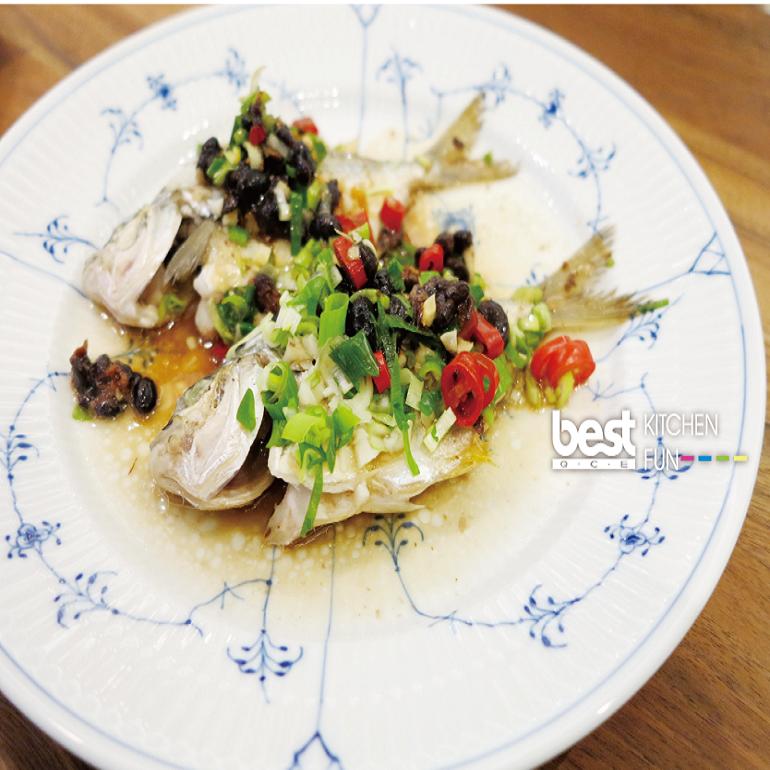 蒜香豆鼓三角魚