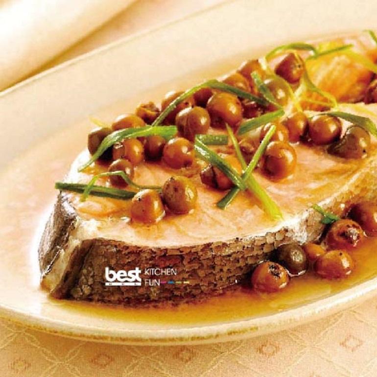 【蒸烤爐食譜】樹子鮭魚