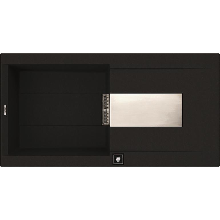 Elleci陶瓷奈米水槽Sirex480(黑)