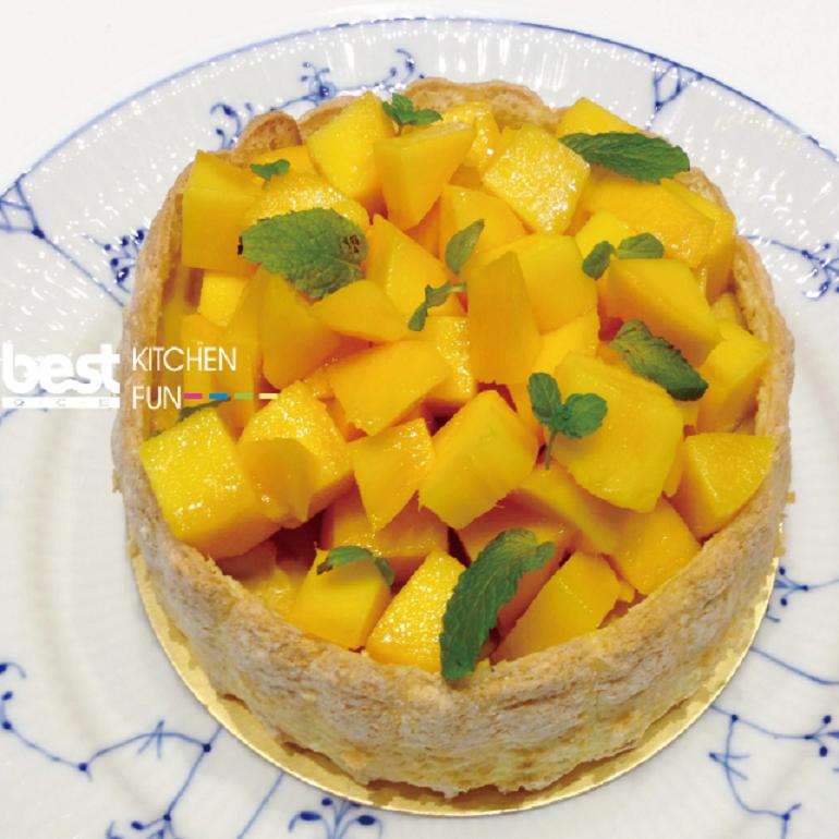 芒果夏洛特蛋糕