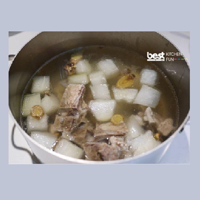 爐蒸冬瓜排骨湯