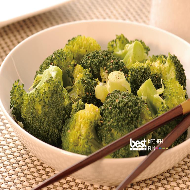 清蒸花椰菜