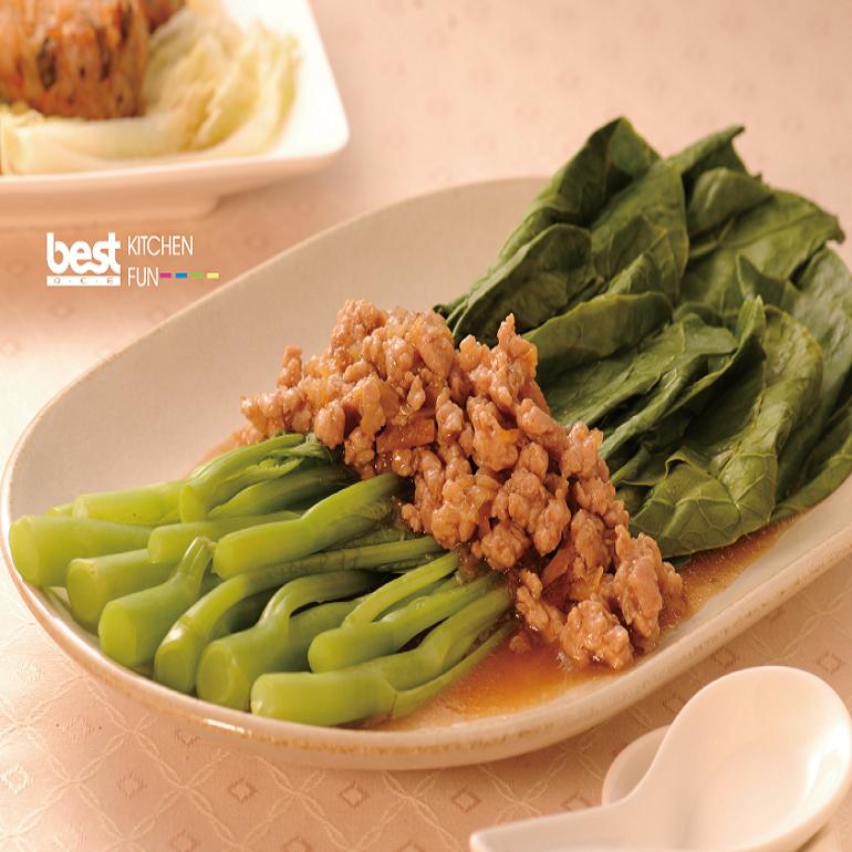 【蒸烤爐食譜】清蒸芥藍菜