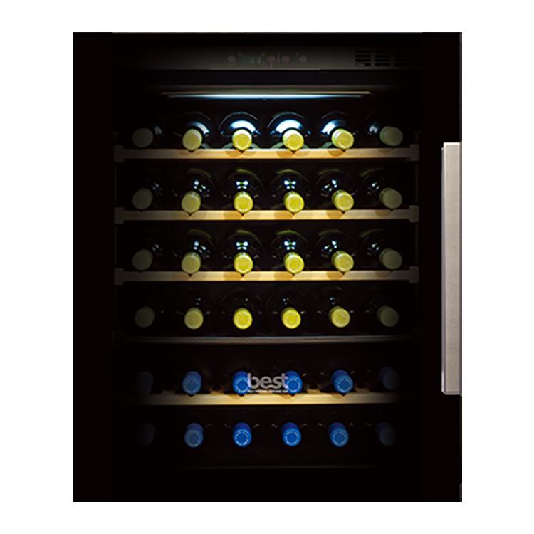 嵌入式雙溫冷藏酒櫃WE-555-R