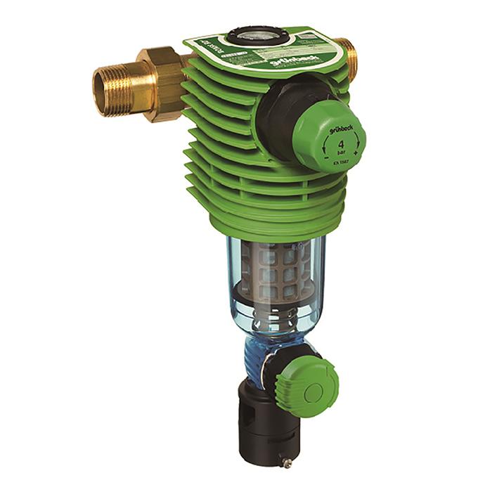 前置雜質手動反沖洗過濾器BOXER®RD(含減壓閥和壓力指示器)