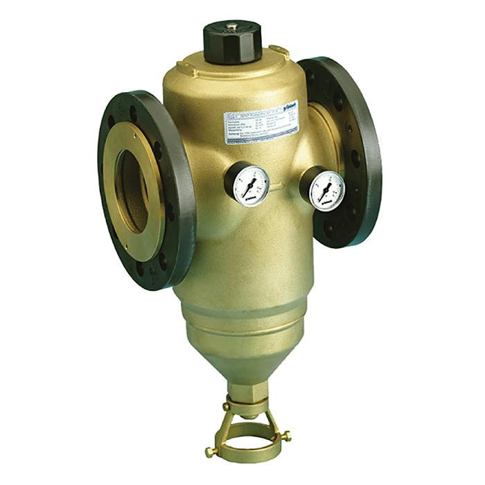 社區商用前置雜質手動反沖洗過濾器(法藍連接)GENO®MX flange