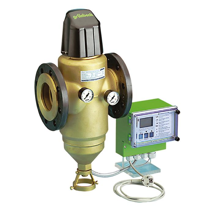 社區商用前置雜質全自動反沖洗過濾器(法藍連接)GENO®MXA flange