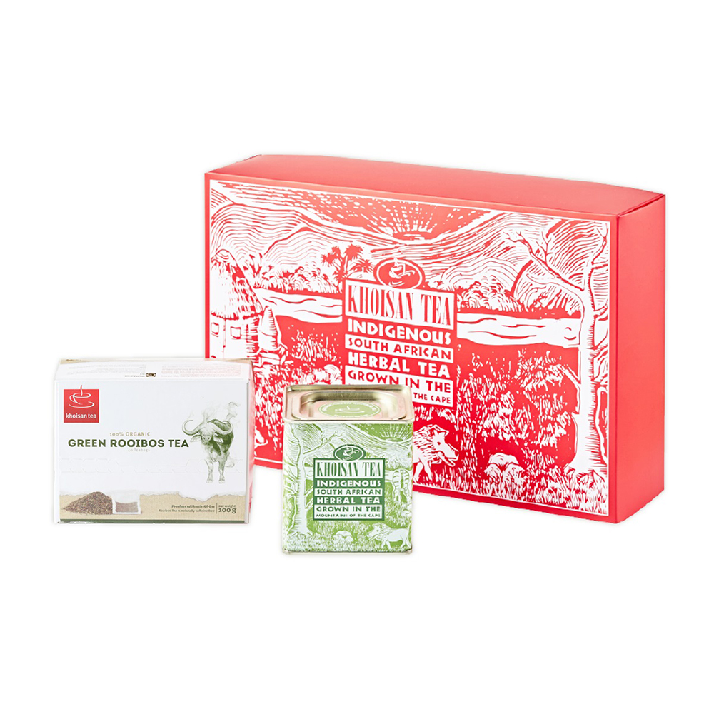 綠茶有機茶組禮盒