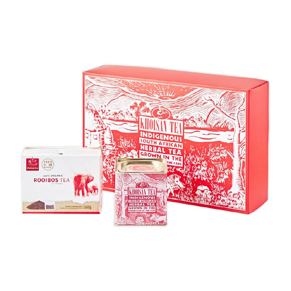 香草紅茶有機茶組禮盒