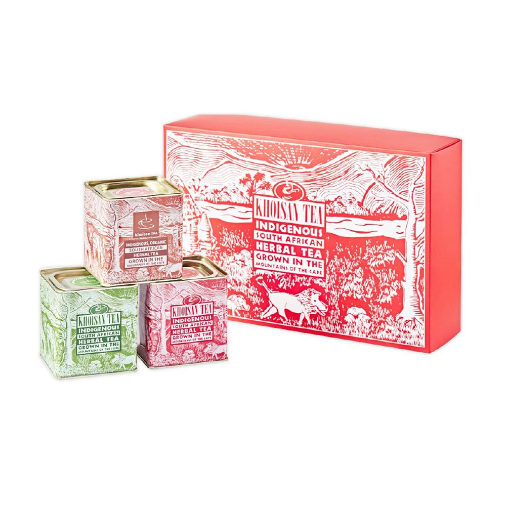 古典罐經典禮盒(綠茶/紅茶/波旁香草)
