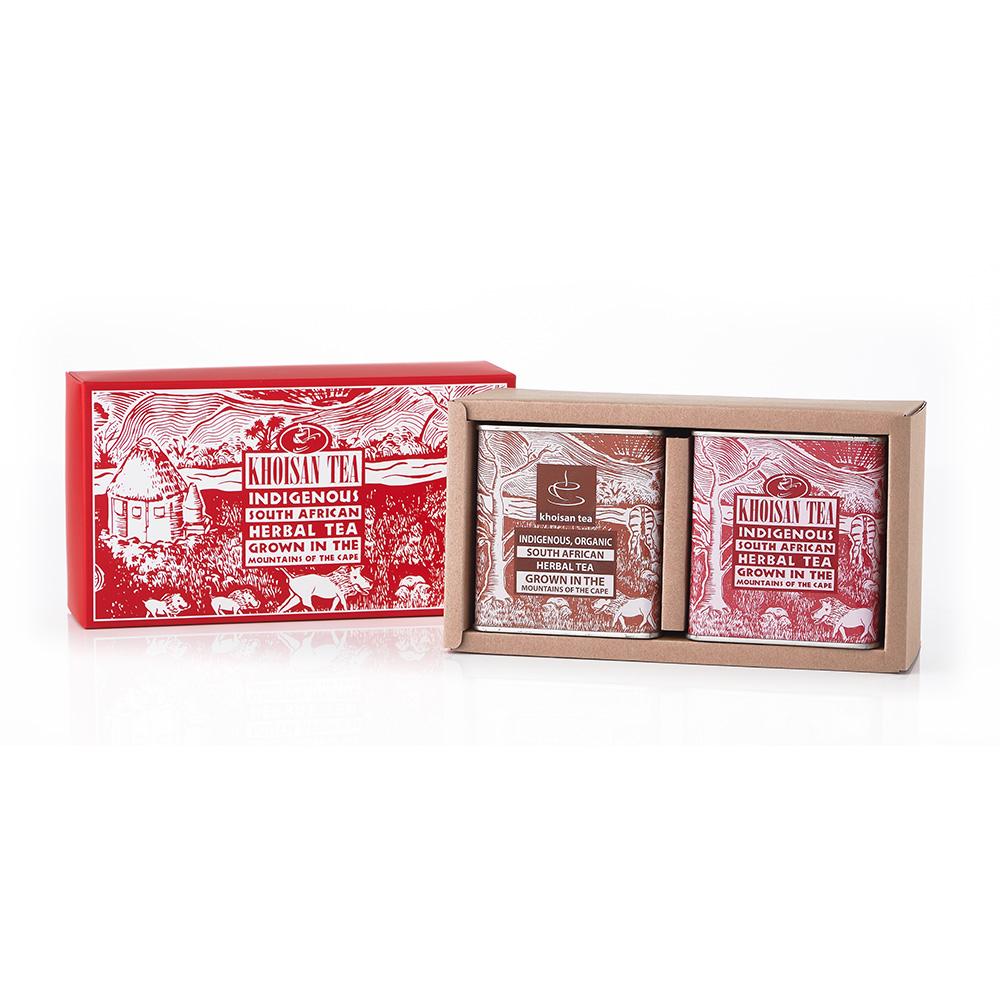 有機古典罐禮盒二入組(紅茶/香草)