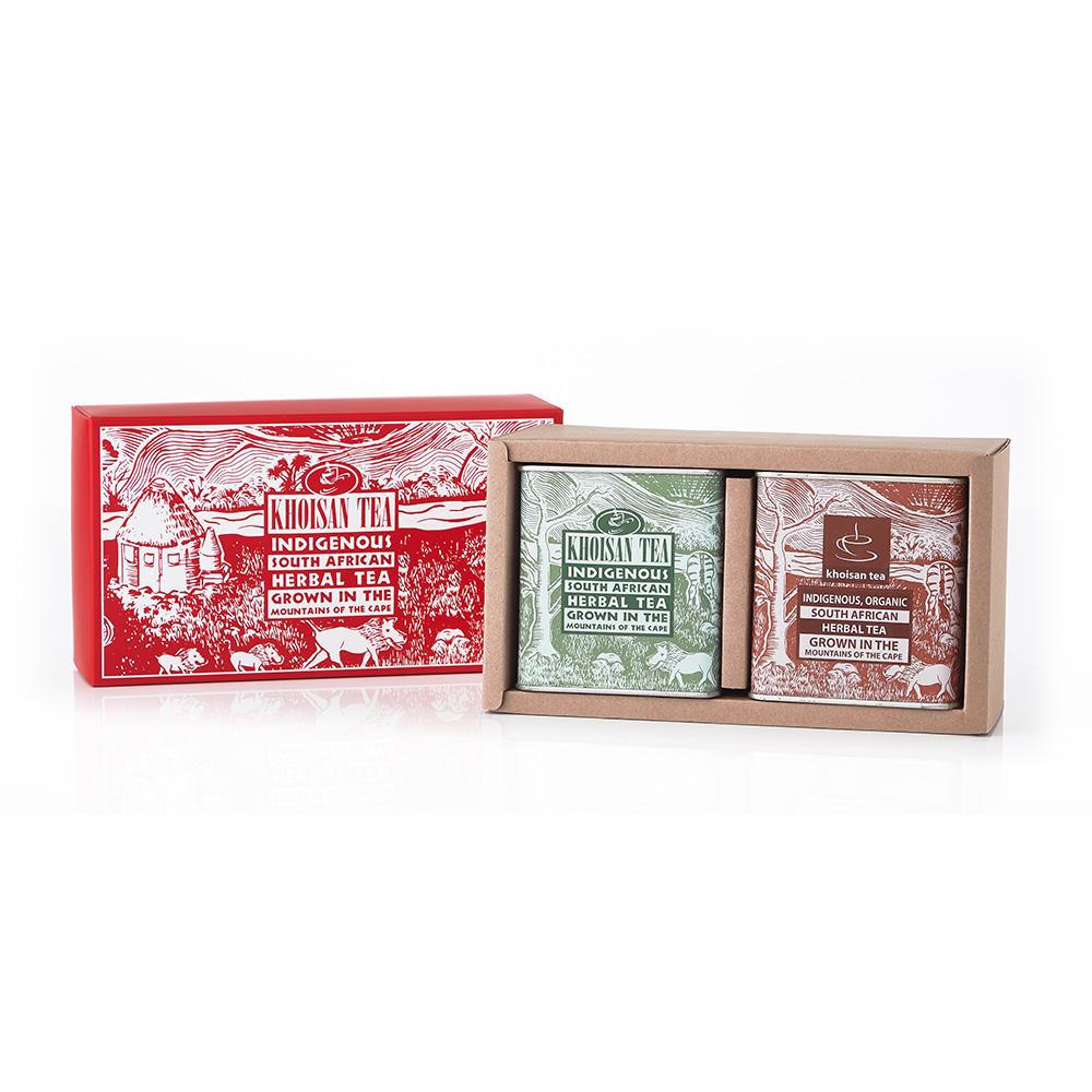 有機古典罐禮盒二入組(緣茶/紅茶)