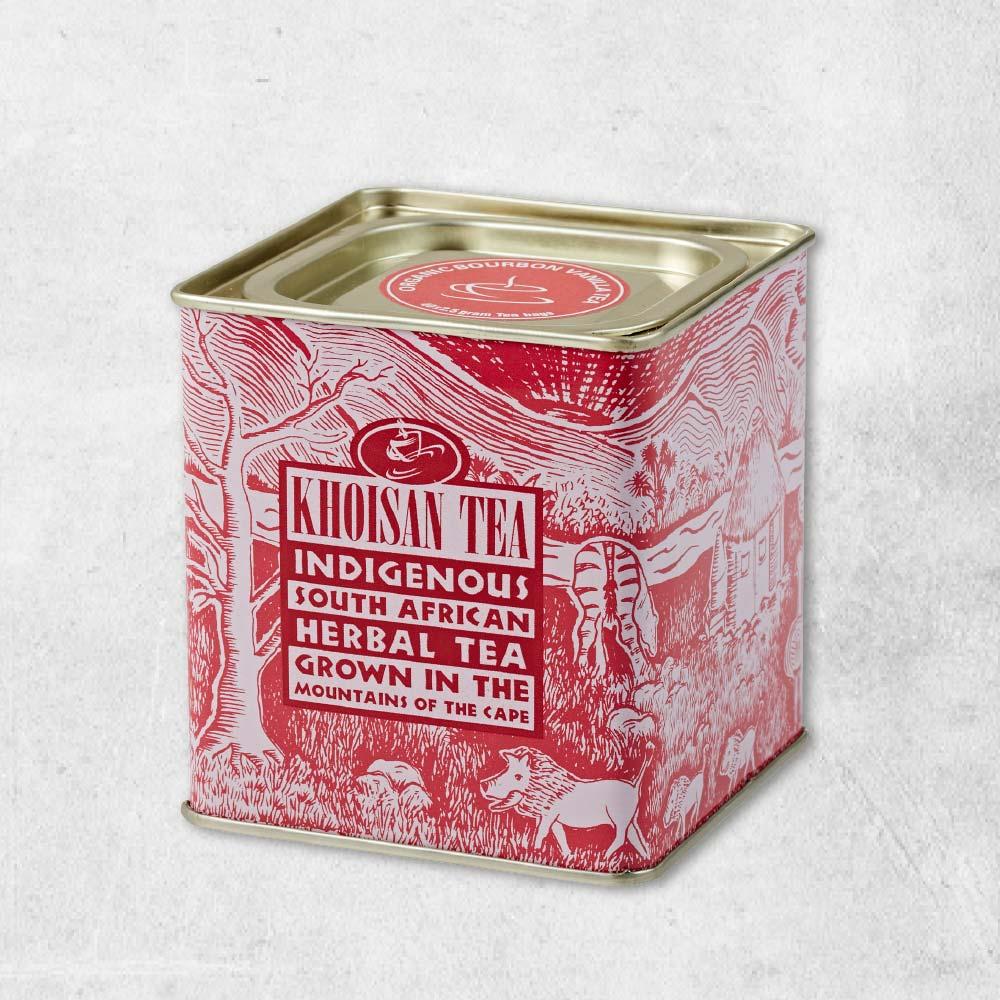 有機經典波旁香草茶古典罐(2.5g*40包)