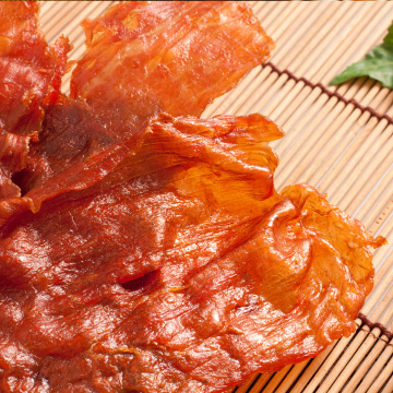 蒜味豬肉紙600g(購買時請注意此商品口感為有嚼勁非脆片系列)