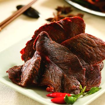 辣味牛肉乾300g