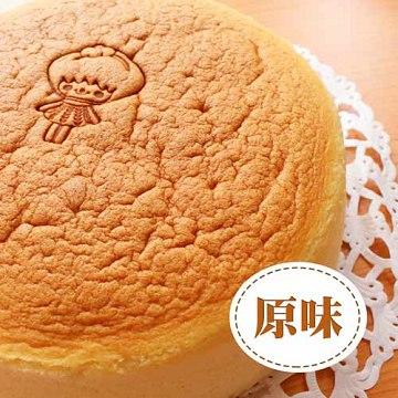 無麥麩 原味輕熟米蛋糕1入組