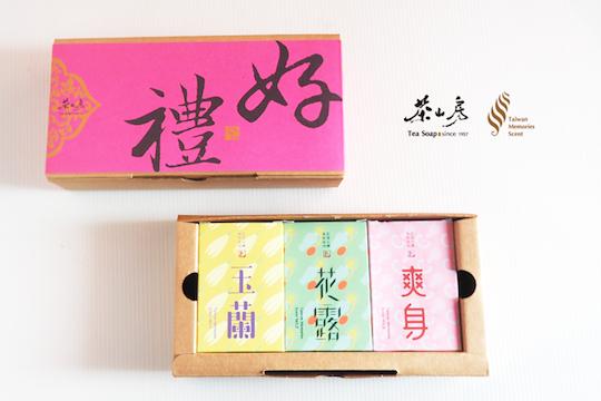茶山房-記憶台灣氣味皂組