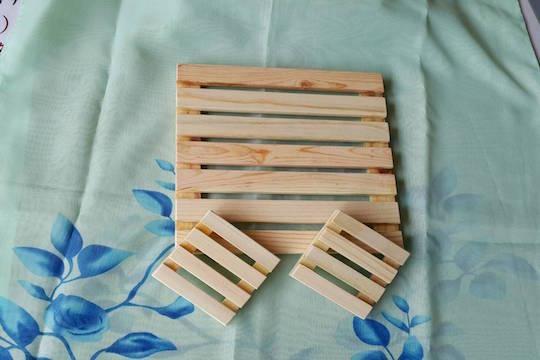 菁桐鐵道烏克麗麗工作坊-餐桌上文化:實木手工製作墊子組