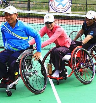 3/18-台灣世界網球日X輪椅網球運動--帶給孩子不同的體驗
