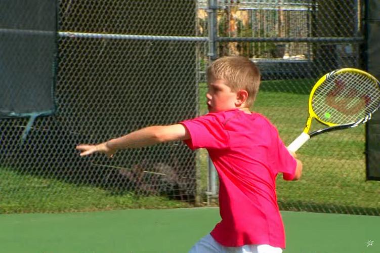 十歲以下的網球學習