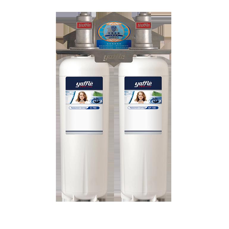 日本系列櫥下型家用大流量二道式生飲淨水器WF-720